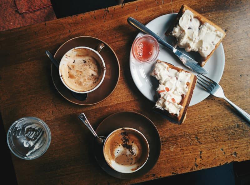 Frokost og kaffe for en god start på dagen