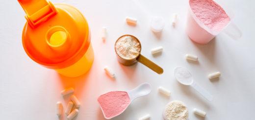 Shaker og kosttilskudd