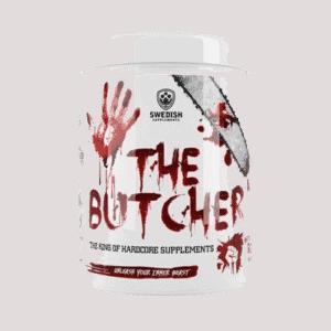 The Butcher fra proteinfabrikken.no har kommet godt ut i vår test av pre workout