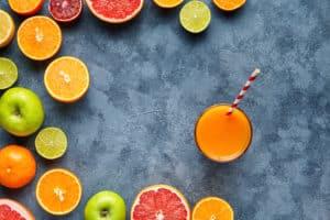 Juice med eller uten tilsatt sukker