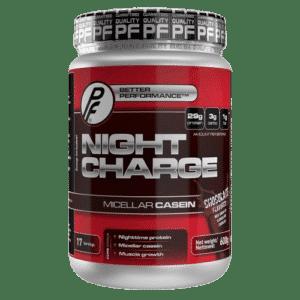 Night Charge er et proteinpulver som sikrer god tilførsel gjennom natten