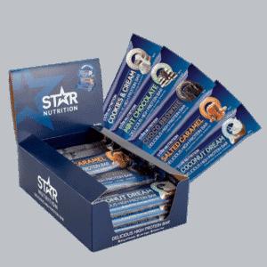 Test av beste proteinbar, star nutrition