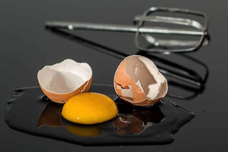 Proteininntak per måltid, egg