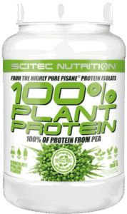 Scitect 100% plant proteinpulver fra erter