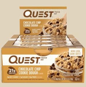 Vurdering av Quest Bar i vår test av sunne proteinbarer