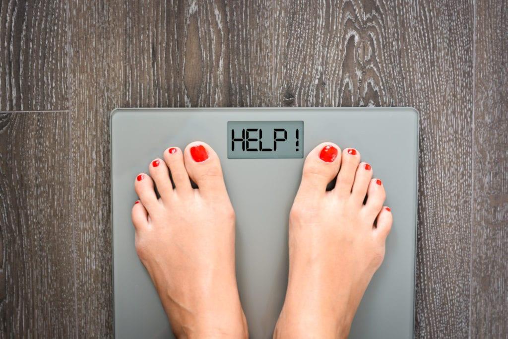 Prøver å gå ned i vekt