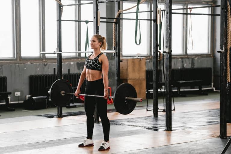 Trening med olympisk stang