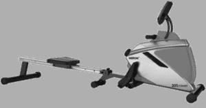 Test av romaskin til hjemmebruk, nordic 205 rower