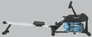 Test av romaskin TITAN LIFE Trainer R22 Water Rower