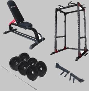 Masterfit X-Fit Cage Styrkepakke