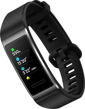 Huawei Band 3 Pro Test