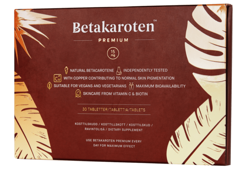 Betakaroten premium test
