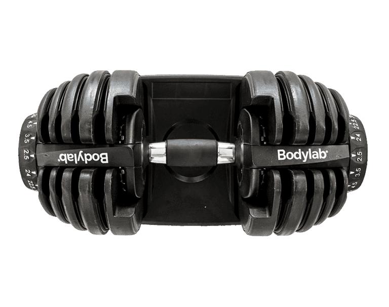 Bodylab Adjustable Dumbbell Test