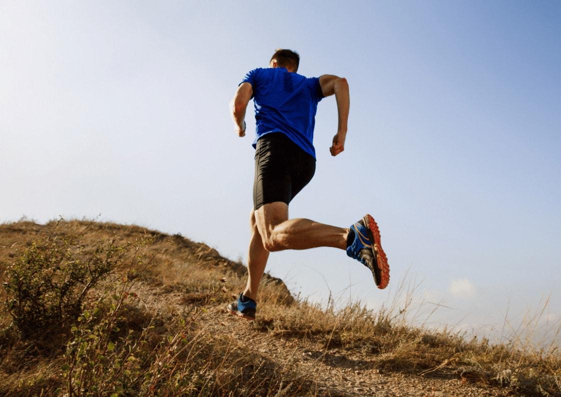 Løper utendørs