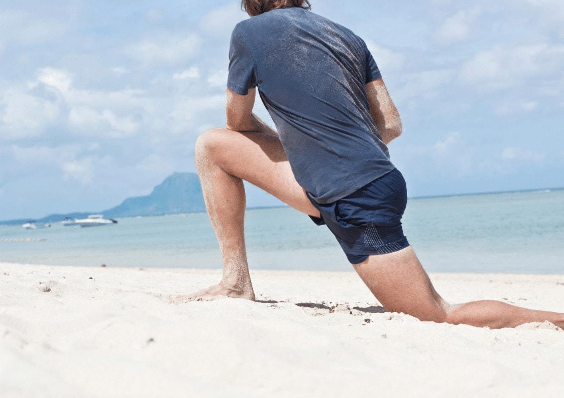 Tøying av hoftestrekkerne