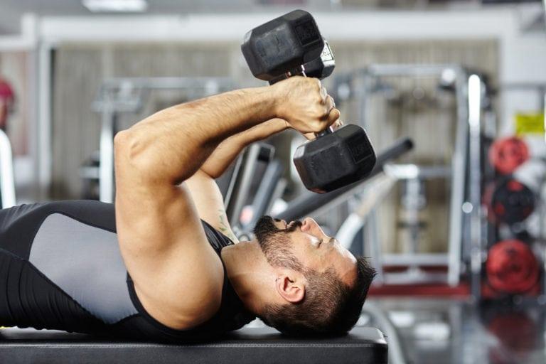 Mekaniske dropsett for større triceps