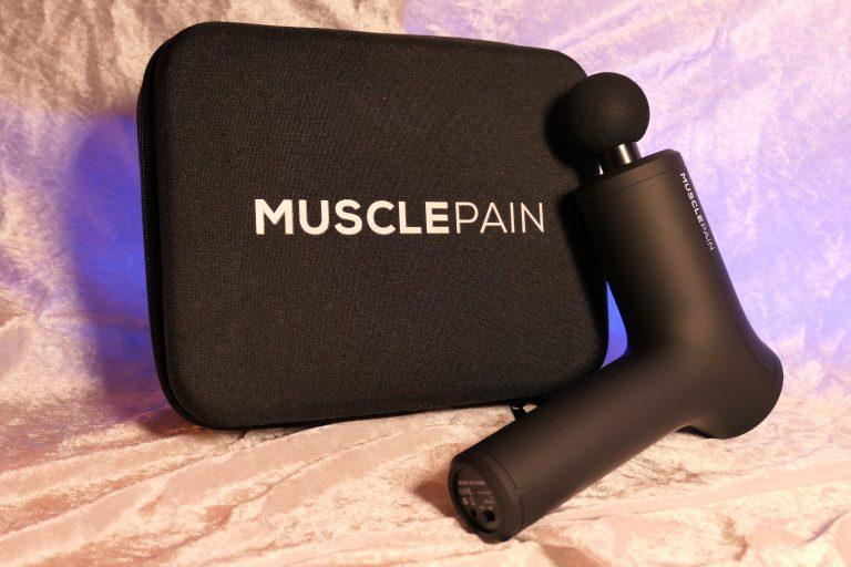 MusclePain Massasjepistol test
