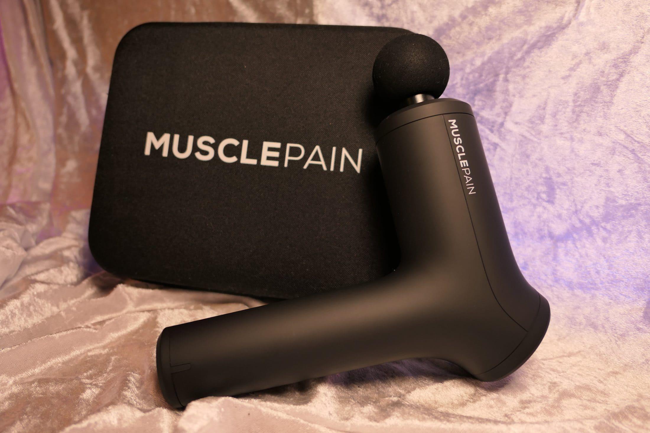 MusclePain Massasjepistol oppbevaringseske