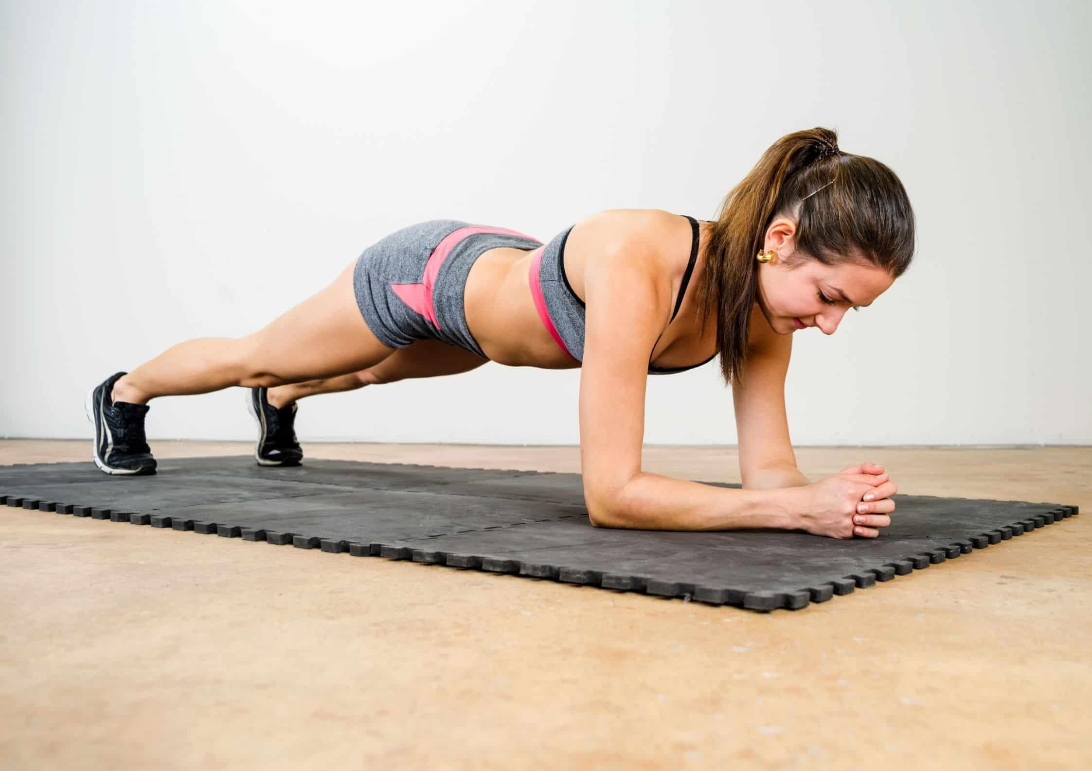 Planken Isometrisk Øvelse