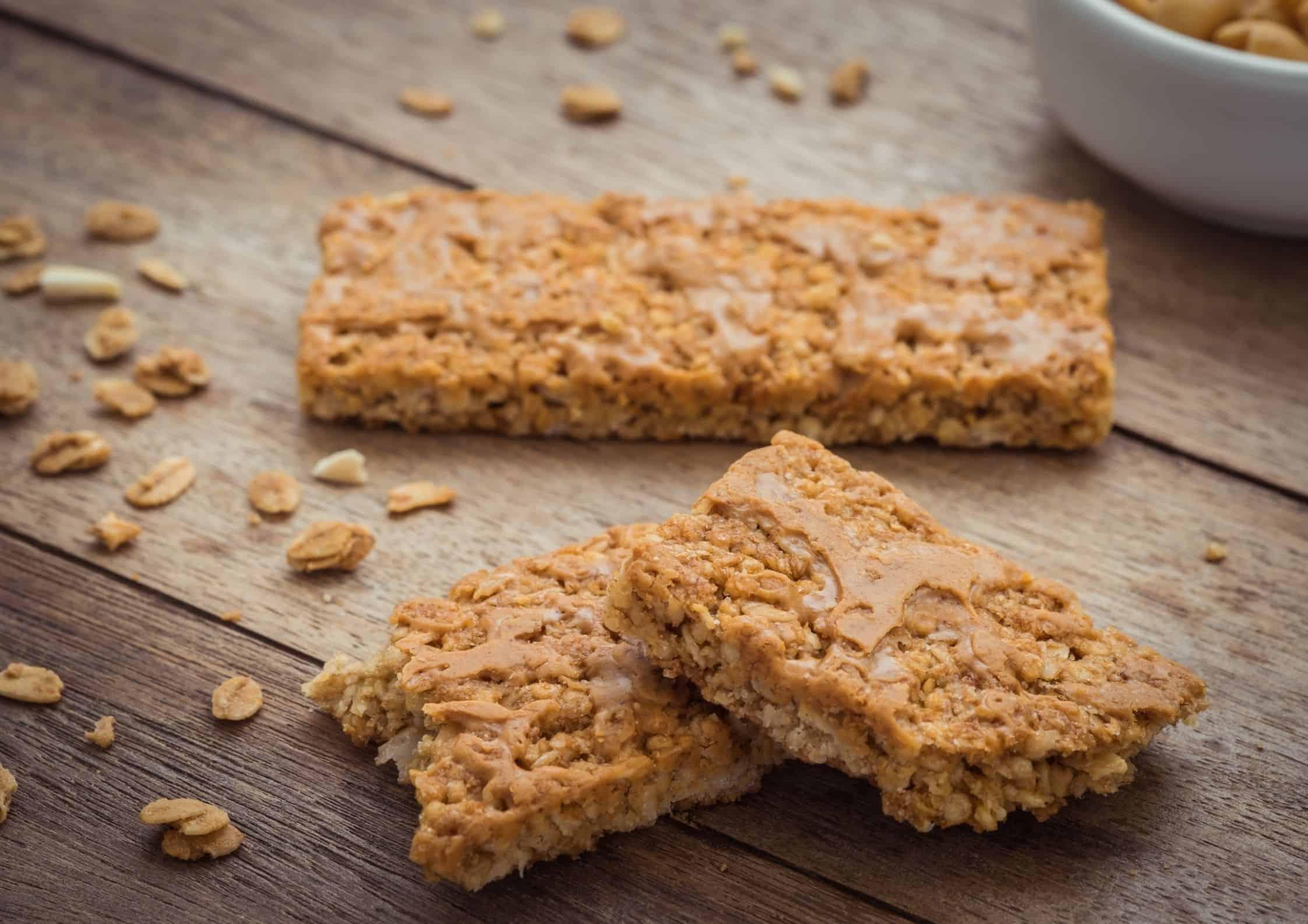 Proteinbarer med granola