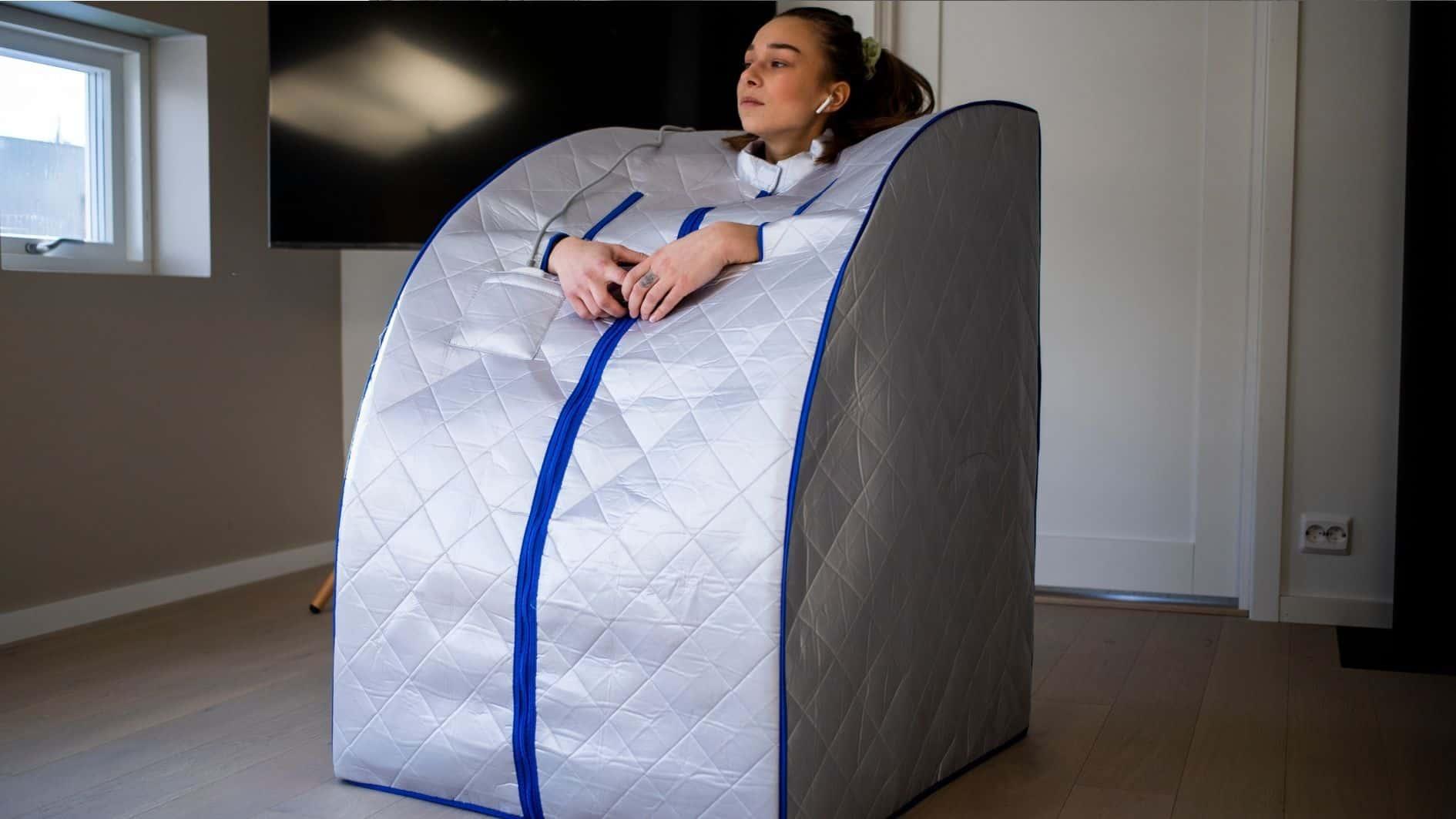 SaunaBox fra Behagly på en stue