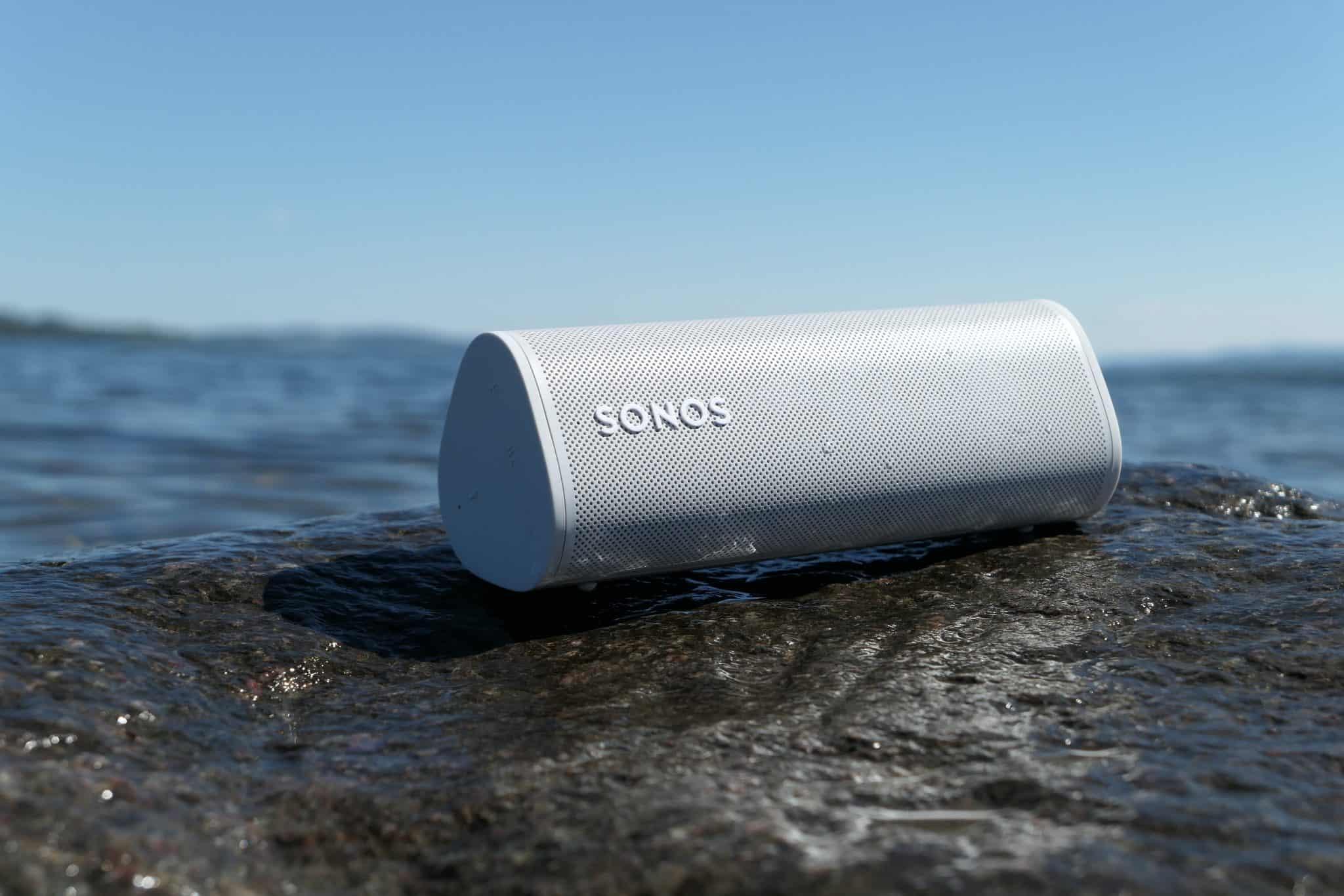 Sonos Roam er vannbestandig