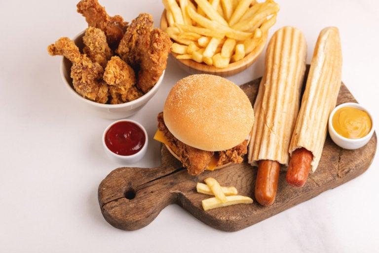 Spisedag med usunn mat