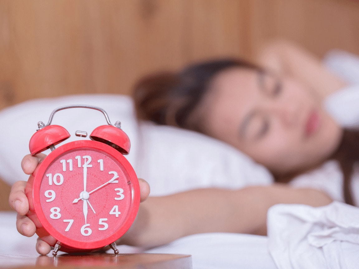 Trening og søvn