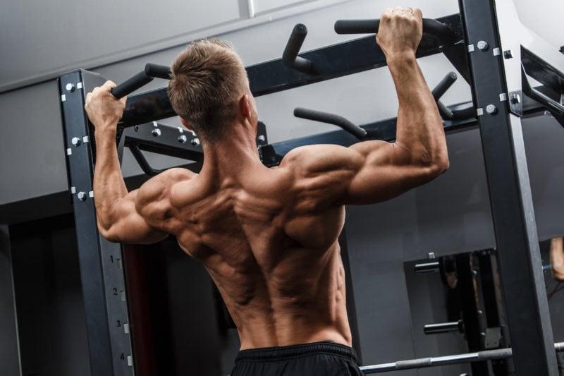 Treningsøkt for rygg