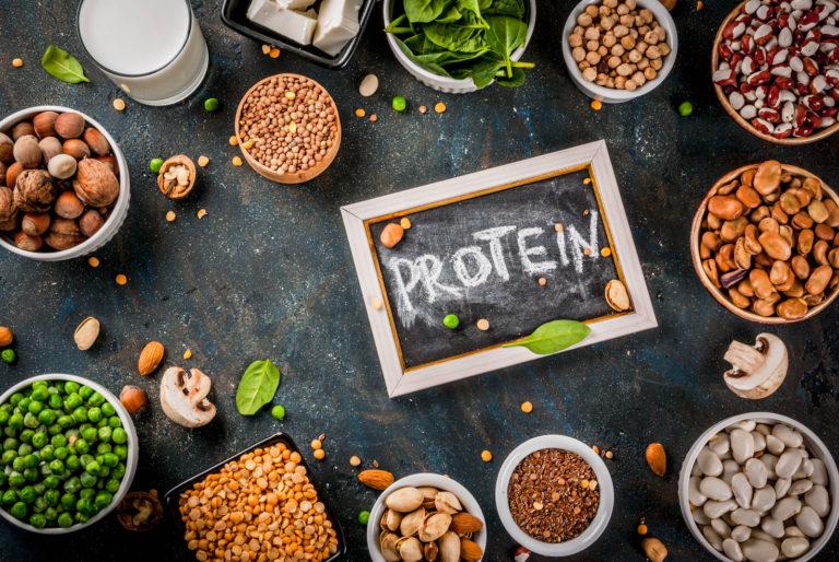 Vegansk proteinpulver test